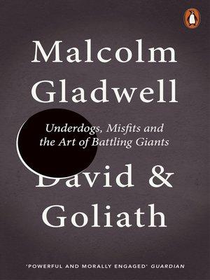 malcolm gladwell david & goliath