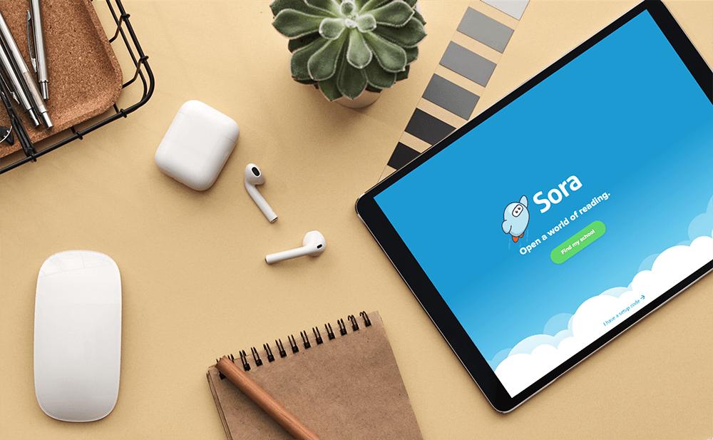 sora app open on tablet on desk feature image